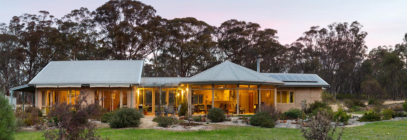Elegant and Sculptural Home