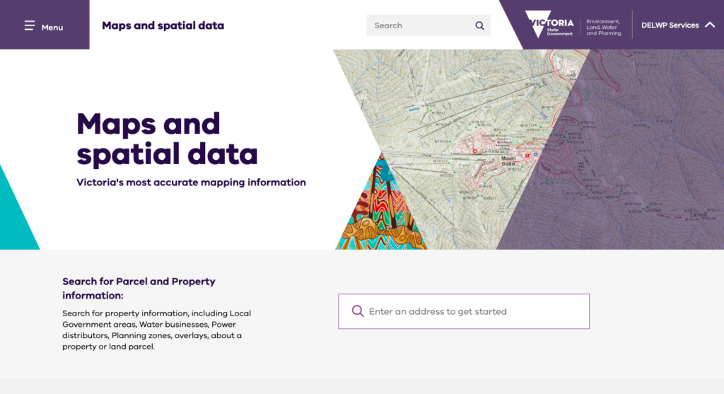 Department-Of-Environment-Land-Water-and-Planning-Map-Search